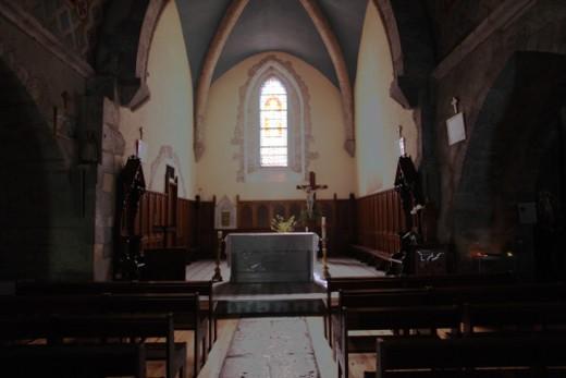 interior of church : Stock Photo