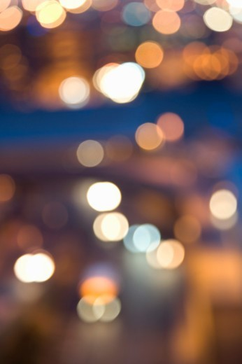 Circles of Light, 'Bokeh' : Stock Photo