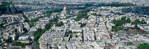 Stock Photo: 1672R-45956 roofs of PARIS