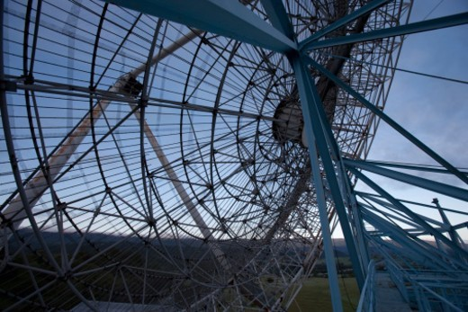 150ft in diameter in the hills of Palo Alto : Stock Photo