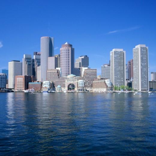 Stock Photo: 1672R-57604 Boston skyline, Massachusetts, USA