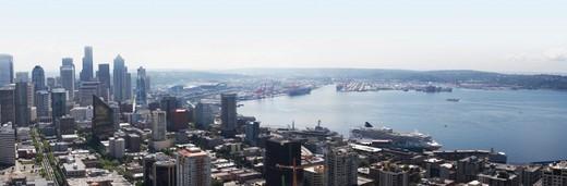 Seattle skyline : Stock Photo