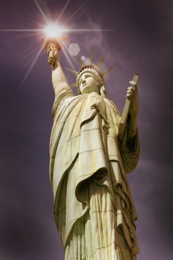 Torch of Freedom : Stock Photo