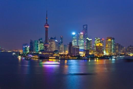 Stock Photo: 1672R-62837 Shanghai, China.