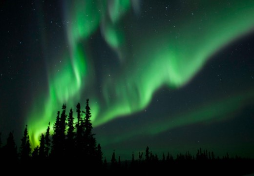 Stock Photo: 1672R-63277 Aurora Borealis