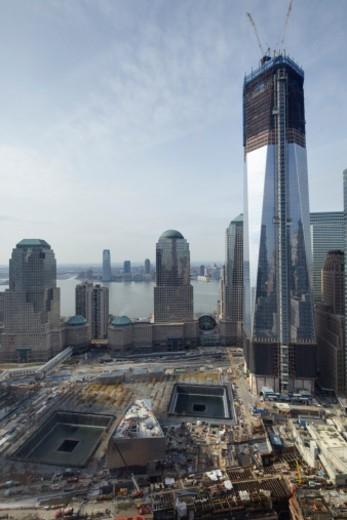 World Trade Center, New York City, ny ground zero : Stock Photo