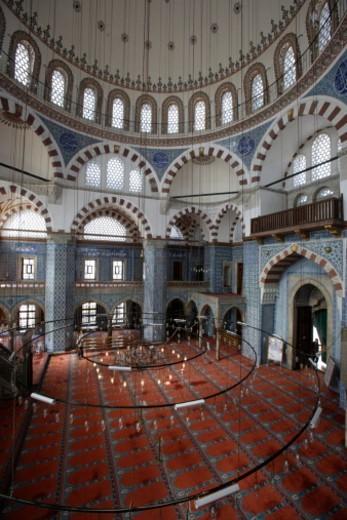 Rustem Pasha, Ottoman mosque : Stock Photo