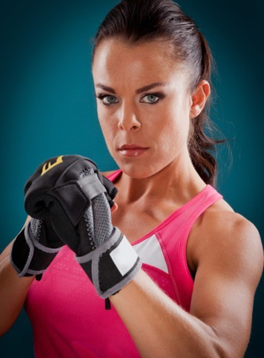 Female boxer : Stock Photo