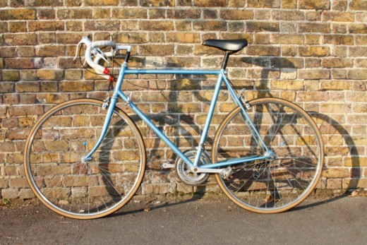 Stock Photo: 1672R-67478 Classic, vintage, man's racing bicycle