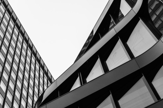 Modern building facades : Stock Photo