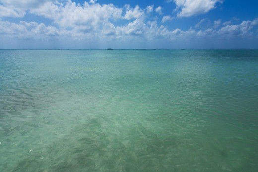 Lagoon at Sian Kaan Biosphere Reserve, Tulum : Stock Photo
