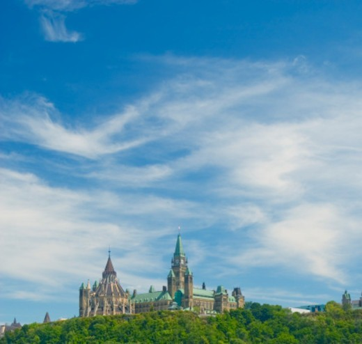 Stock Photo: 1672R-76935 Parliament on the Hill, Ottawa