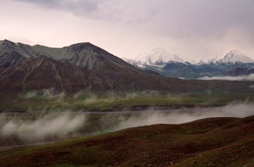 Denali Range, Alaska : Stock Photo