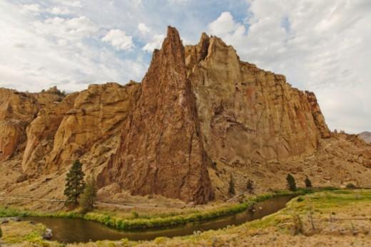 Smith Rock, Oregon : Stock Photo