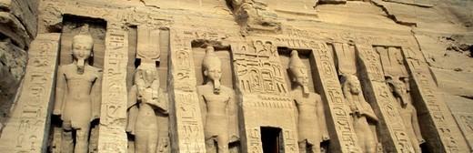 Stock Photo: 1672R-79470 Abu Simbel Temple, Aswan, Egypt