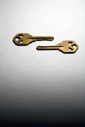 Stock Photo: 1672R-80311 Two keys