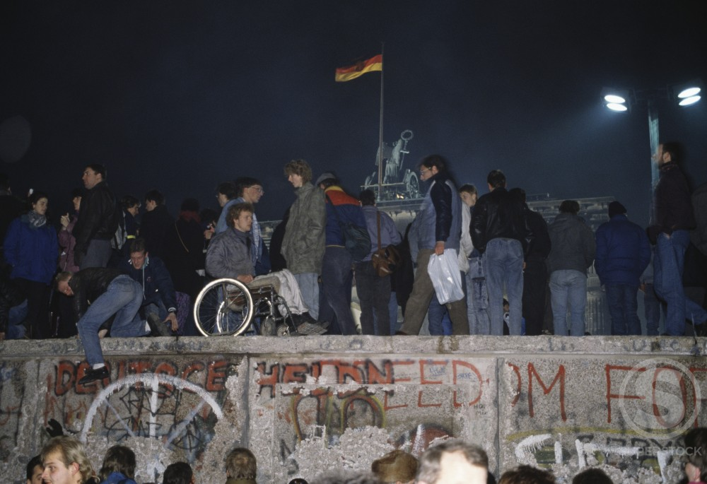 Stock Photo: 170-525 Berlin Wall
