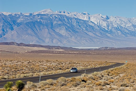 Eastern Sierra Mountains, Owens Valley, California. : Stock Photo