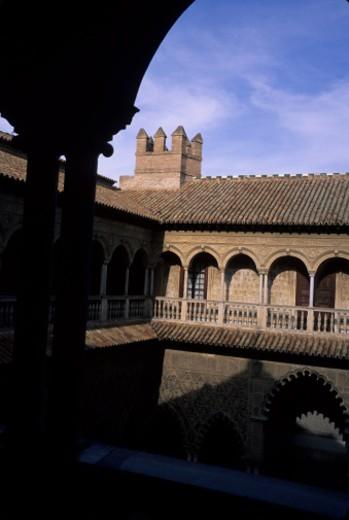 Alhambra, Granada, Spain. The moorish palace of the Alhambra in Granada at sunset. : Stock Photo