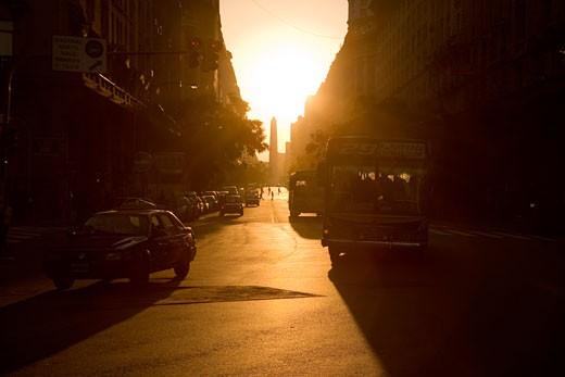 Avenida De Mayo,Buenos Aires, Argentina. : Stock Photo
