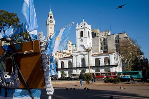 Plaza De Mayo,Buenos Aires, Argentina. : Stock Photo