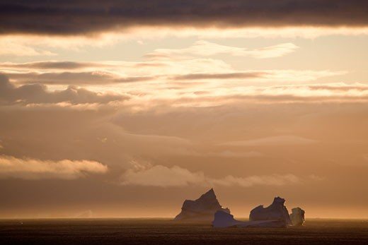 Stock Photo: 1701R-14584 Baffin Bay, Greenland.