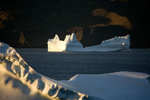 Stock Photo: 1701R-14587 Baffin Bay, Greenland.