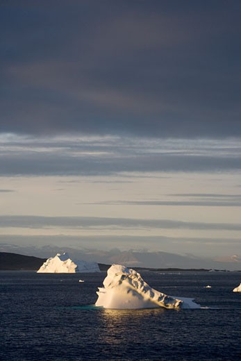 Stock Photo: 1701R-14588 Baffin Bay, Greenland.