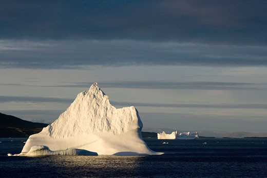 Stock Photo: 1701R-14589 Baffin Bay, Greenland.