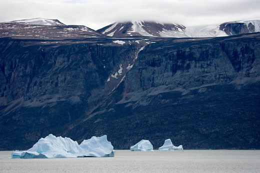 Stock Photo: 1701R-14590 Baffin Bay, Greenland.