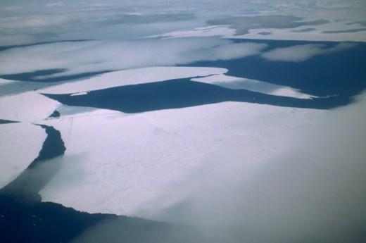 Baffin Bay, Nunavut, Canada. : Stock Photo