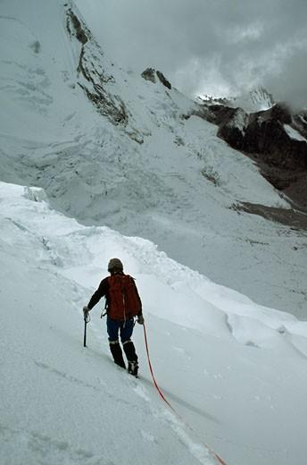 Khumbu Region, Himalaya, Nepal. : Stock Photo