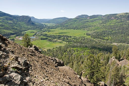 Stock Photo: 1701R-15777 Near Pagosa Springs, Colorado.
