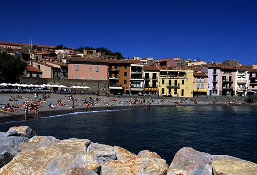 Collioure, France. : Stock Photo