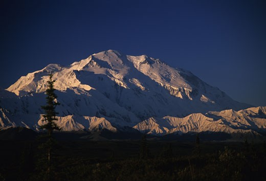 Stock Photo: 1701R-16185 Denali National Park, Alaska.