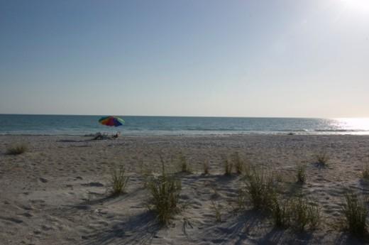 Holmes Beach, Anna Maria Island, Florida. : Stock Photo