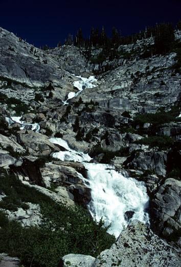 Stock Photo: 1701R-16352 Sequoia National Park, California.