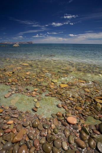 Stock Photo: 1701R-18426 San Francisco Island, Sea of Cortez, Gulf of California, Baja California, Mexico.