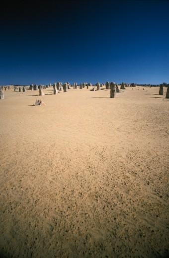 Nambung National Park, Western Australia, Australia. : Stock Photo