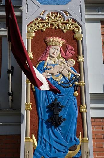 Latvia, Riga : Stock Photo