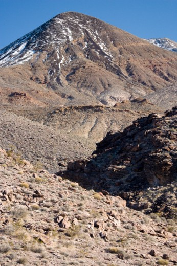 Echo Canyon, Funeral Mountains, Death Valley National Park, California, USA : Stock Photo