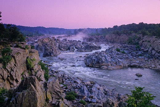 Great Falls, Virginia and Virginia. : Stock Photo