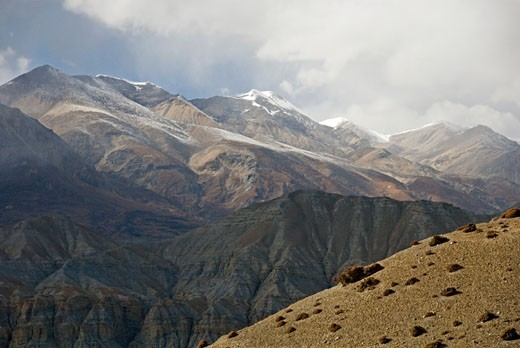 Stock Photo: 1701R-23356 Near Surkhang, Mustang, Nepal.