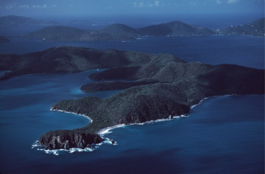 Saint John Island, United States Virgin Islands. : Stock Photo