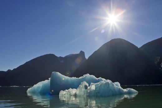 Tracy Arm, Southeast Alaska, United States. : Stock Photo