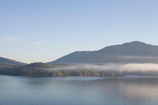Stock Photo: 1701R-26686 Inside Passage, British Columbia, Canada.