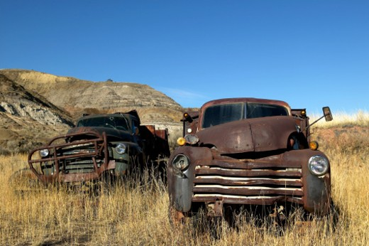 Stock Photo: 1701R-27522 East Coulee, Alberta, Canada