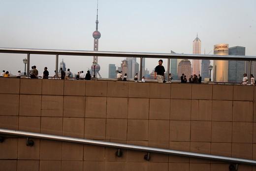 Stock Photo: 1701R-29540 Shanghai, China.