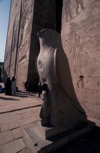 Stock Photo: 1701R-3042 Edfu, Egypt