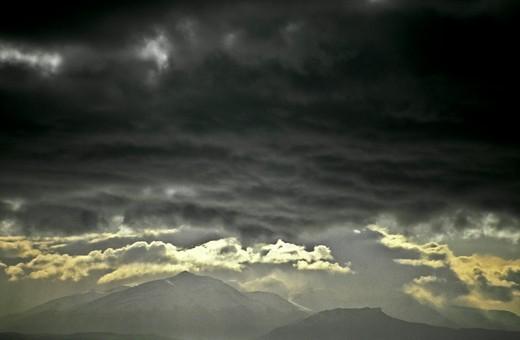 Stock Photo: 1701R-31424 Torres del Paine National Park, Parque Nacional Torres del Paine, Chile.